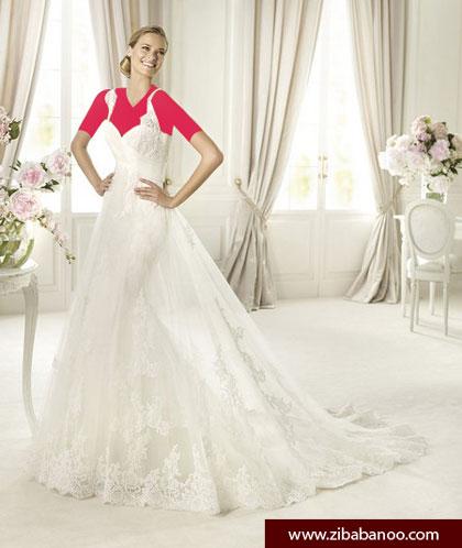 مدل لباس عروسی 2014 , مدل لباس عروس 2014 , مدل لباس عروس رکابی 2014 , مدل لباس عروس دکلته 2014 , مدل لباس عروس آستین کوتاه 2014