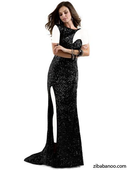 مدل لباس مجلسی تک آستین 2014 , مدل لباس مجلسی شب 2014 , مدل لباس مجلسی , مدل لباس مهمانی شب 2014 , مدل لباس مجلسی تک آستین