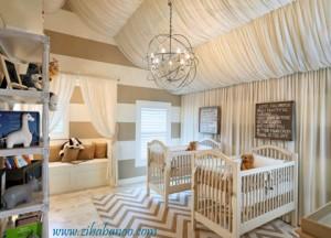 همه چیز درباره دکوراسیون اتاق نوزاد و کودک